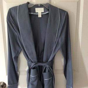 H&M Conscious Blue-Gray Belted Jacket